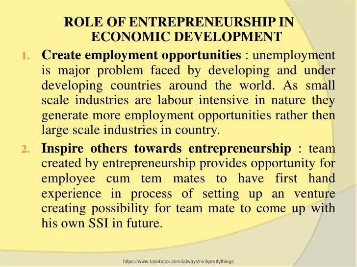 importance of entreprenuership Is small and medium enterprises (smes) an entrepreneurship  the importance of entrepreneurship development cannot be undermined.