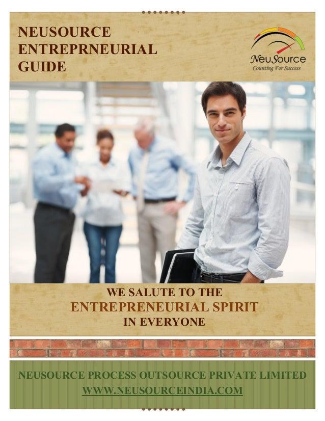 Entrepreneurial guide