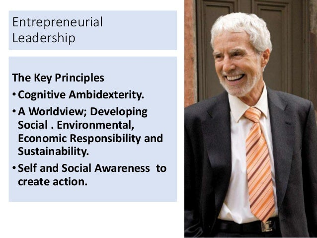 entrepreneurial leadership style When is entrepreneurial leadership most effective entrepreneurial context but on concluding that entrepreneurial leadership is no leadership style but more a.