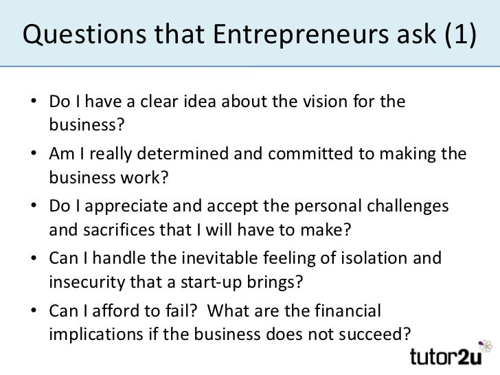 questionnaire on women entrepreneurship Women entrepreneurs are more optimistic about 2013 than 2012, according to new data here are their priorities and concerns.