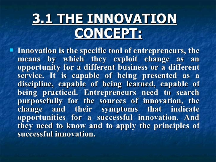 innovation of entrepreneurship To accelerate entrepreneurship and business growth in the area, ftcc launched the center for innovation & entrepreneurship since its inception in early 2017, the center has helped several new businesses to open and existing businesses to expand.