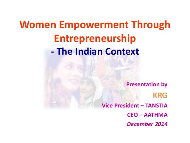 Entrepreneurship and women empowerment-PPT about successful women Entrepreneurs