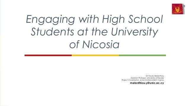 Entrepreneurship Education Conference June 27 at UNESCO, The University of Nicosia