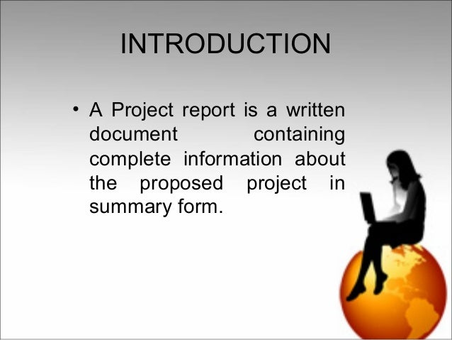 How to prepare a project report for small business