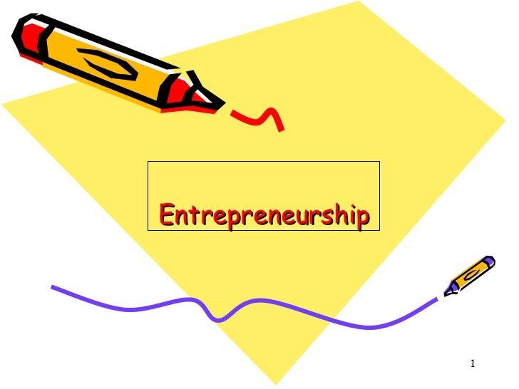 Entrepreneurship in india