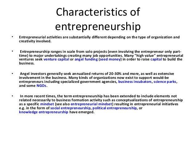 Entrepreneur Definition For Kids