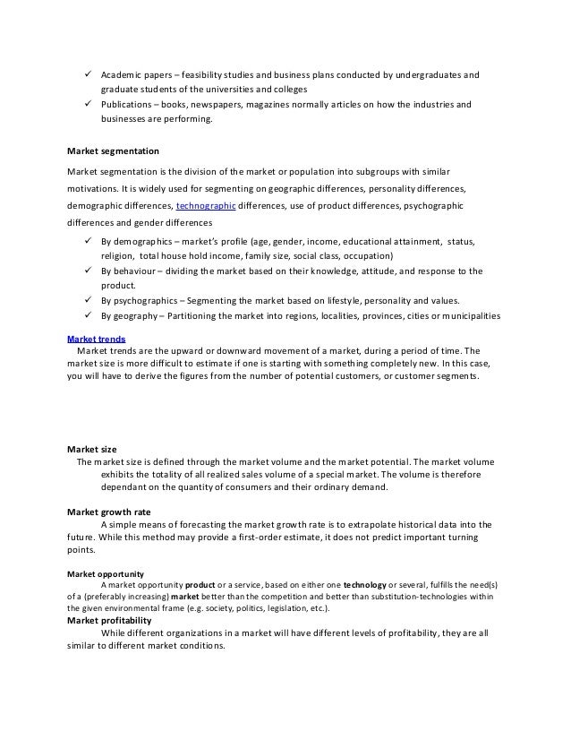 High school business plan examples