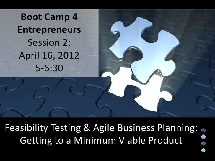 Entrepreneurship Feasibility