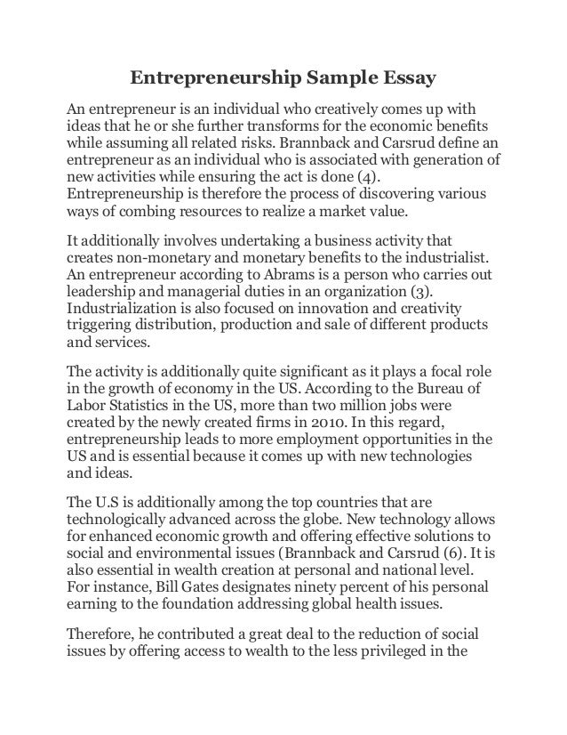 corporate entrepreneurship 2 essay Corporate entrepreneurship write a one page comment based in each answer below 1- corporate entrepreneurship is an oxymoron where new business concepts are developed, the ideas might be impossible with regard to the organization's plan and structure those large companies may have built so carefully over years.