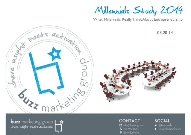 Millennials Study 2014 03.20.14  What Millennials Really Think About Entrepreneurship