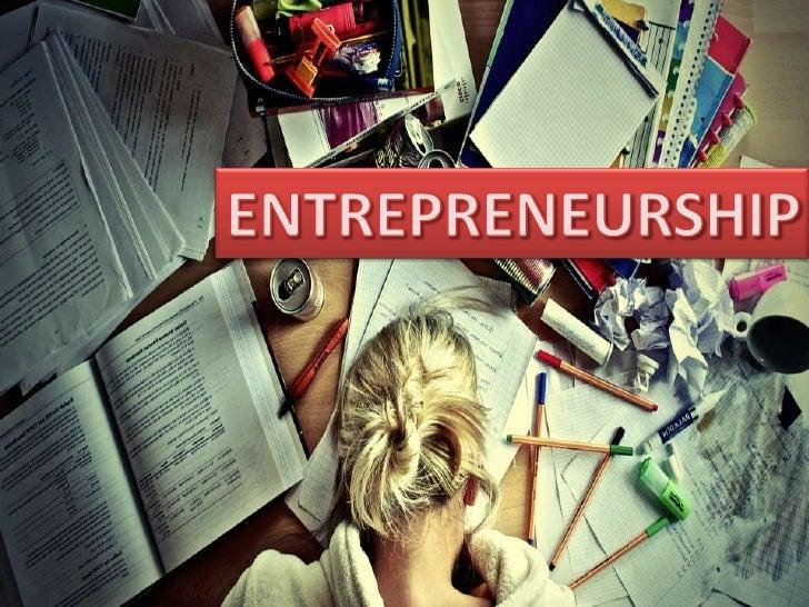 Entrepreneurship and Innovation talk