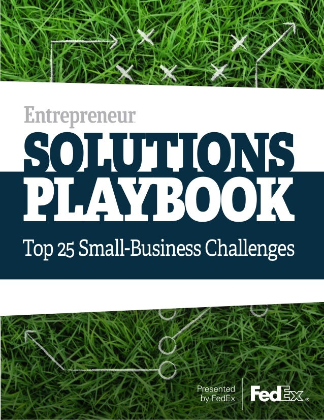 SOLUTIONS  PLAYBOOK  Top 25 Small-Business Challenges