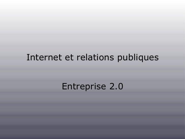 Entreprise 2.0