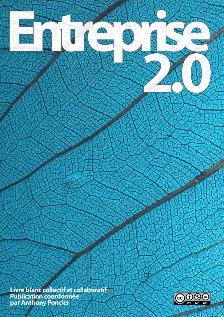 Entreprise 2.0 : Le livre blanc
