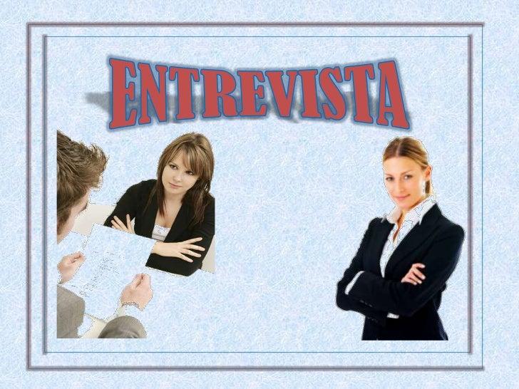 ENTREVISTA<br />