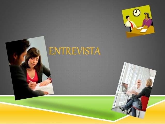ENTREVISTA