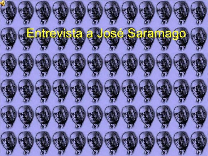 Entrevista a José Saramago