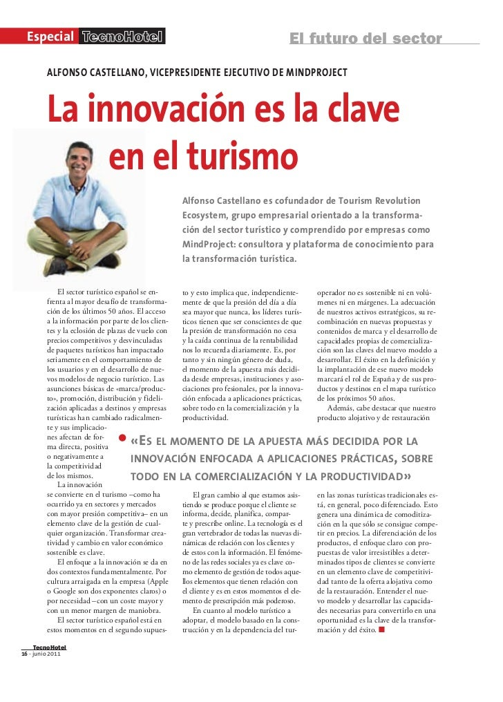 Especial TecnoHotel                                                                 El futuro del sector        ALFONSO CA...