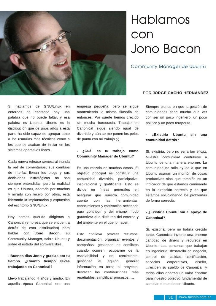 Entrevista a Jono Bacon