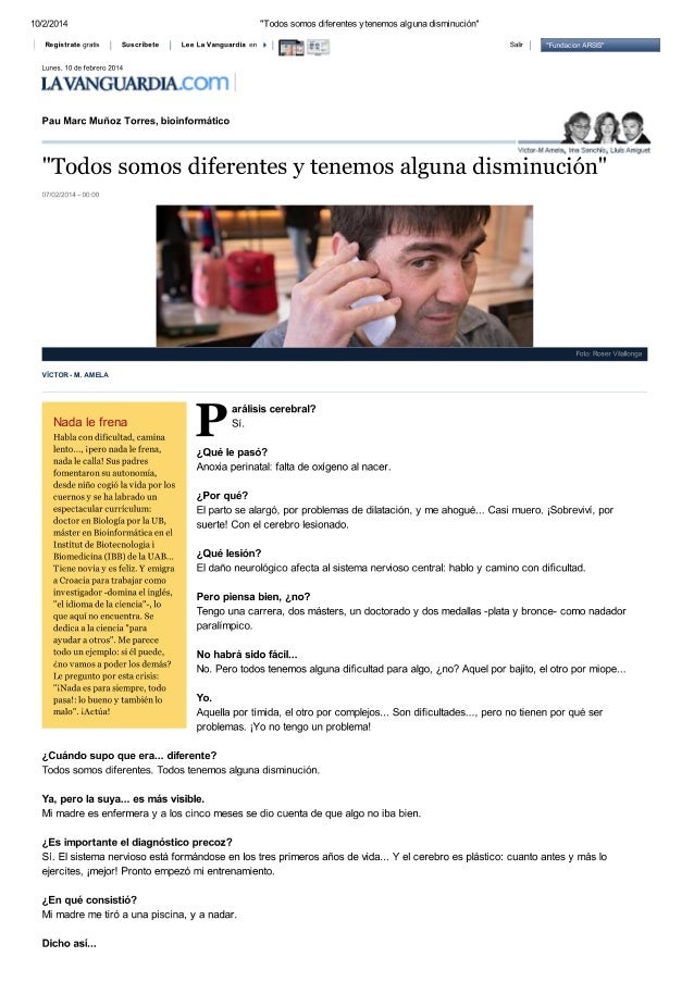 Entrevista a Pau Marc Muñoz - bioinformático
