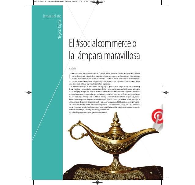 68-70 Social Commerce:Anuario 08-Ano segun               20/12/12         10:36       Página 1        Temas del año       ...