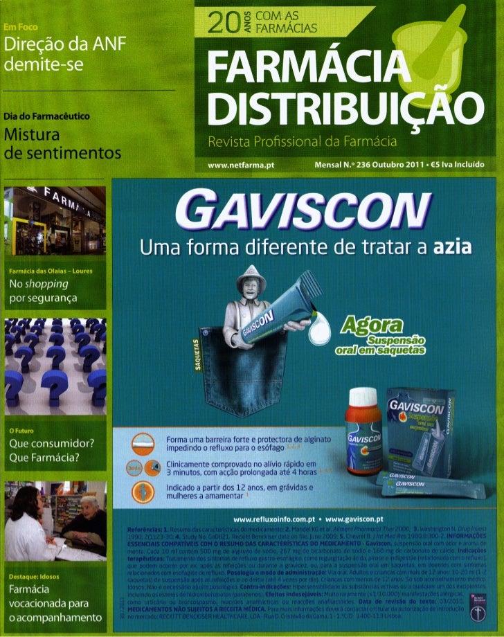 Entrevista de BrunoSilva à Revista Farmácia Distribuição