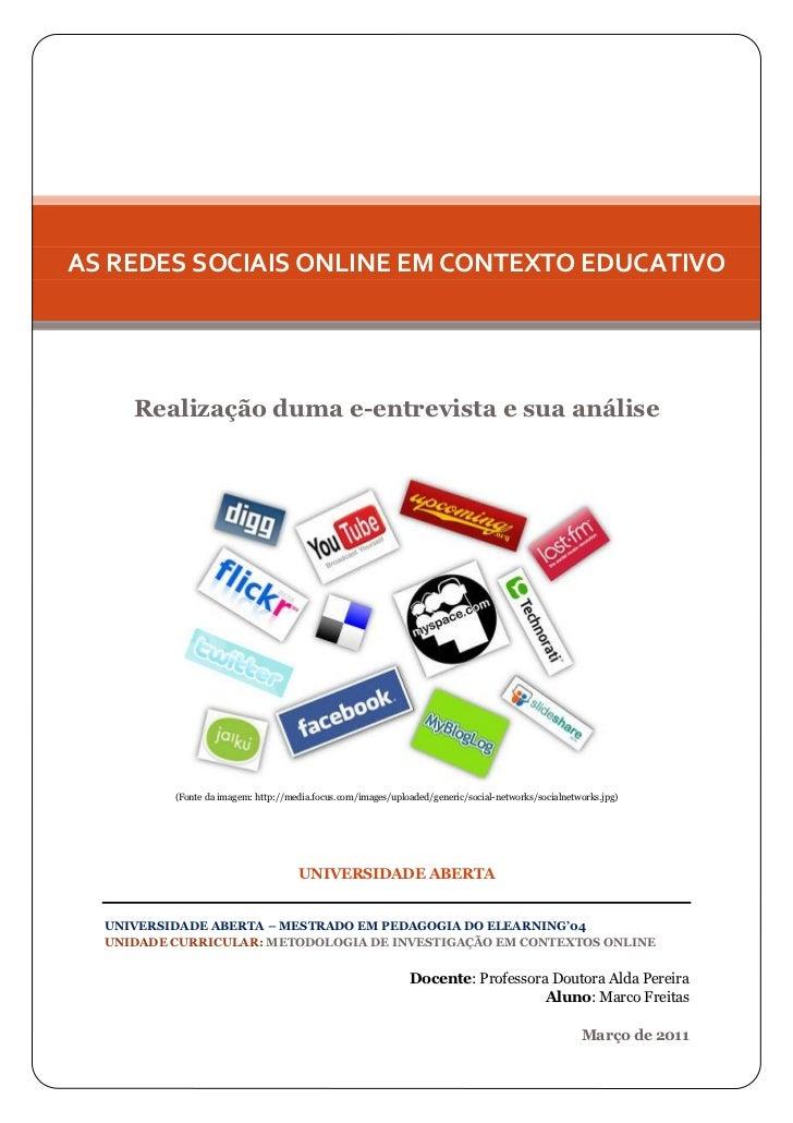 Utilização das redes sociais no ensino