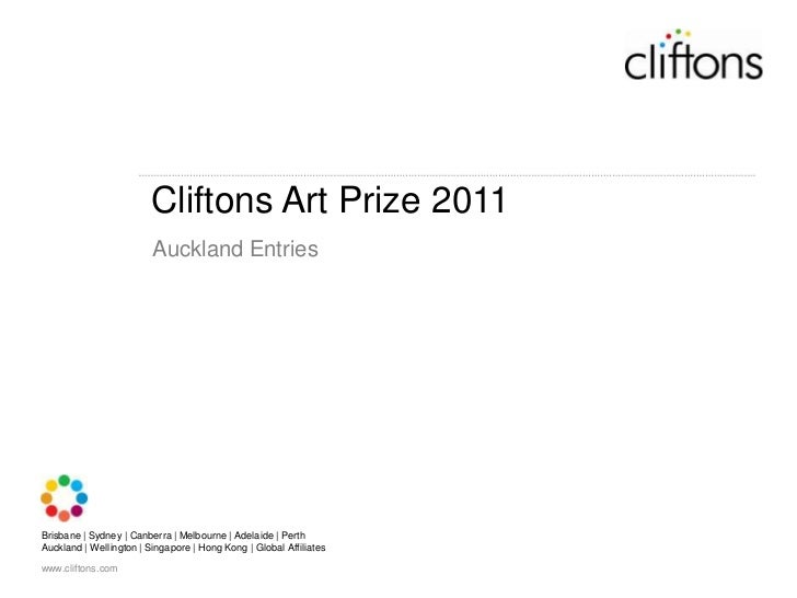 Cliftons Art Prize 2011<br />Auckland Entries<br />