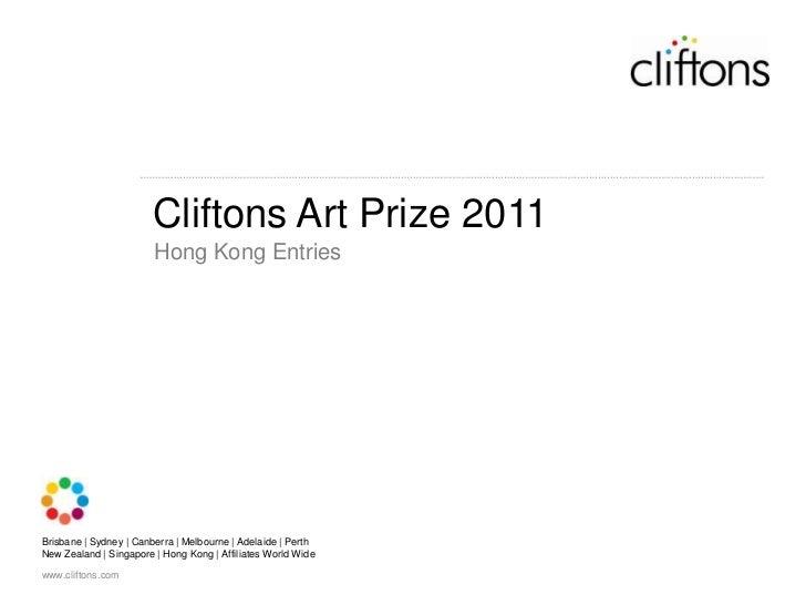 Cliftons Art Prize 2011<br />Hong Kong Entries<br />