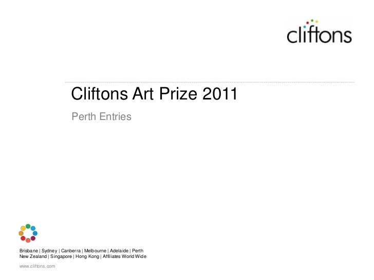 Cliftons Art Prize 2011<br />Perth Entries<br />