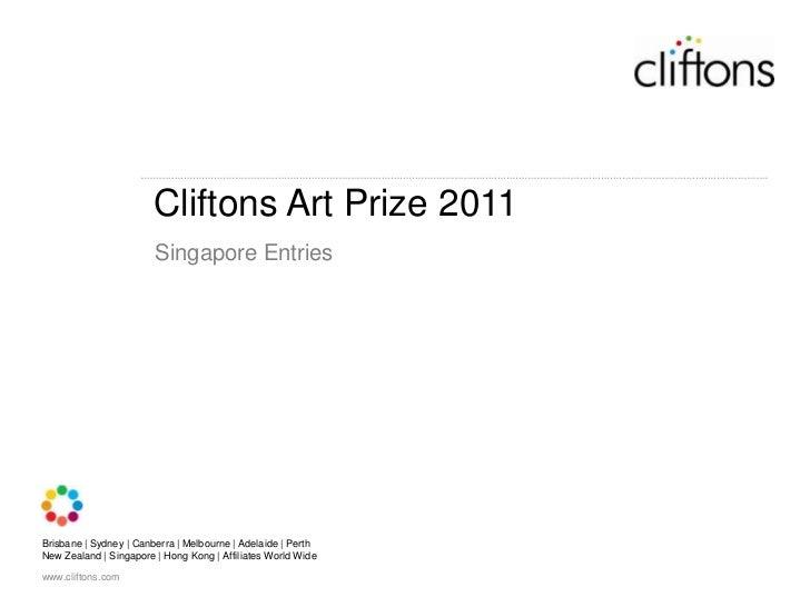 Cliftons Singapore Art Prize Entries 2011
