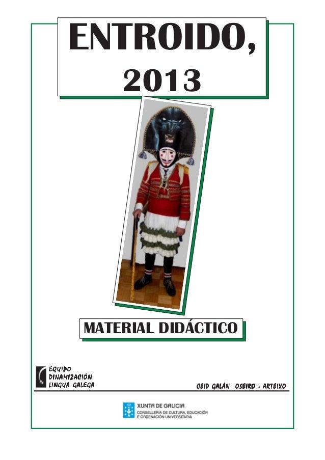 Entroido 2013
