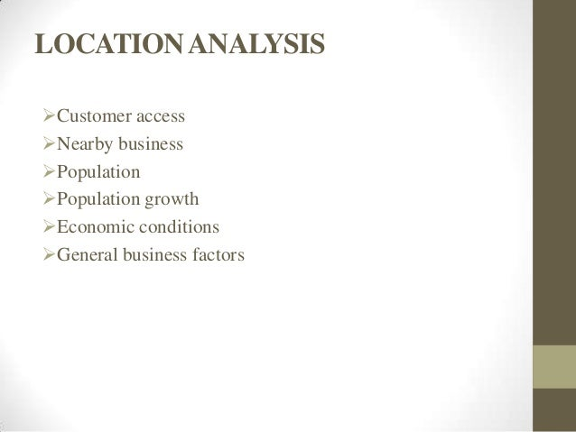 Business Plan Format Contents