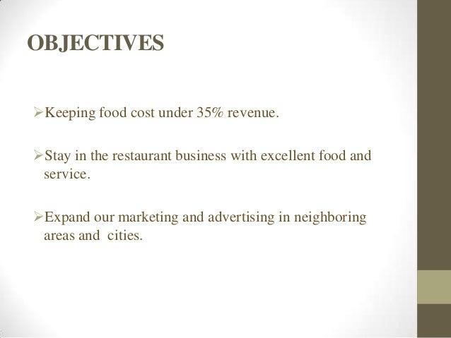 Budget for restaurant business plan