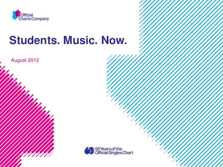Students. Music. Now.August 2012