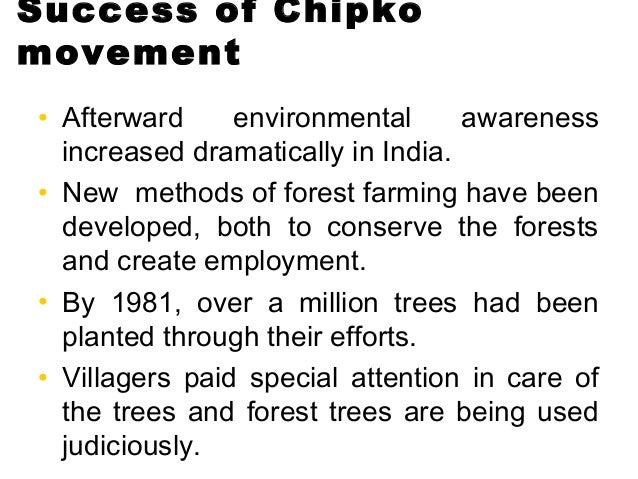 conservation movement essay