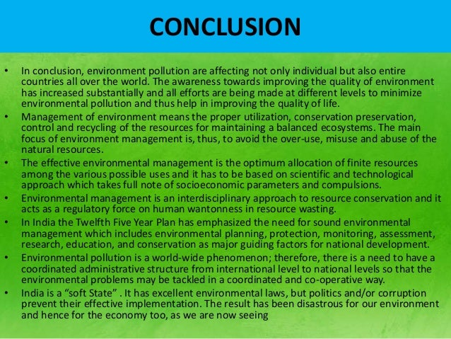 essay problem environmental pollution Environmental pollution refers to the what causes environmental pollution the following attempts can be made to solve the problem of environmental pollution.