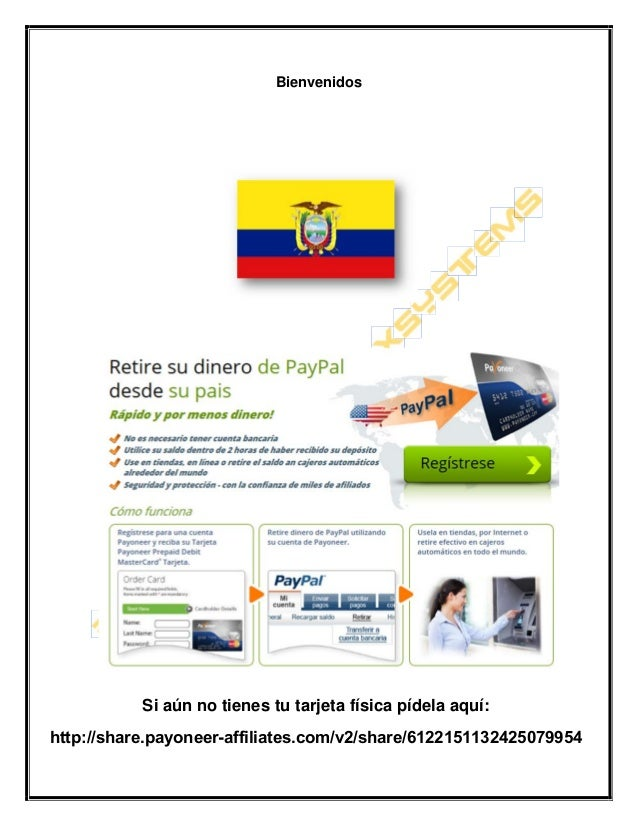 Bienvenidos Si aún no tienes tu tarjeta física pídela aquí: http://share.payoneer-affiliates.com/v2/share/6122151132425079...