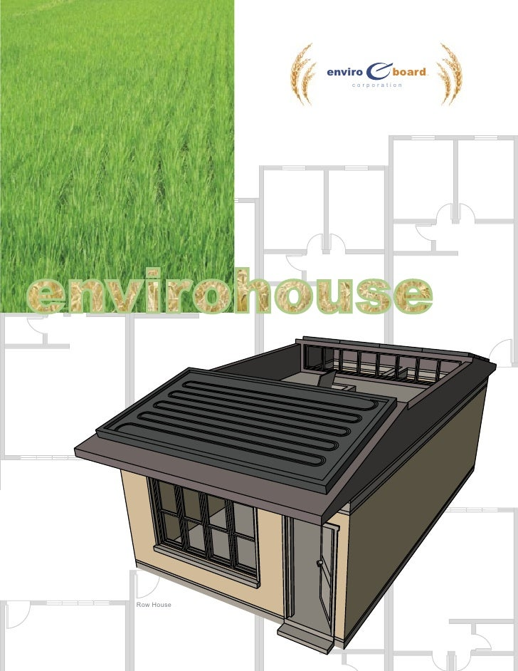 enviro      board   TM                     corporation     Row House