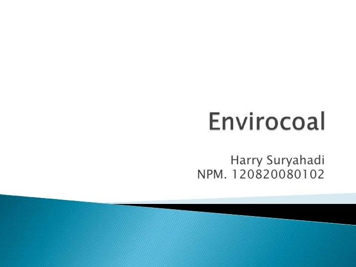 Envirocoal