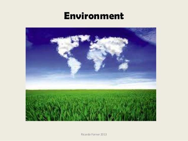 Environment. Vocabulary.