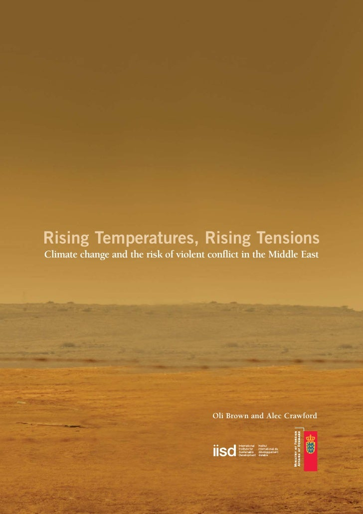 Environment : Rising of the temperatures on the middle east