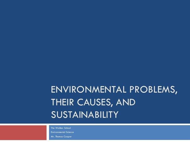 Environmental Issues and Sustainability