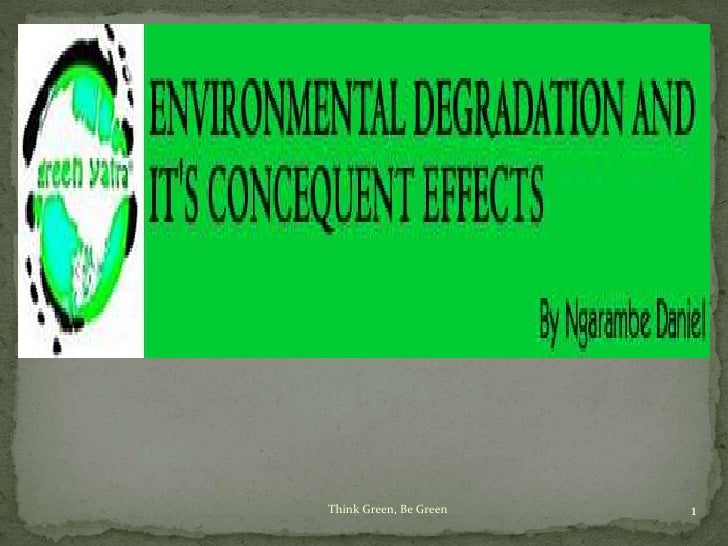 Environmental degradation and it's consequent effects by Green Yatra