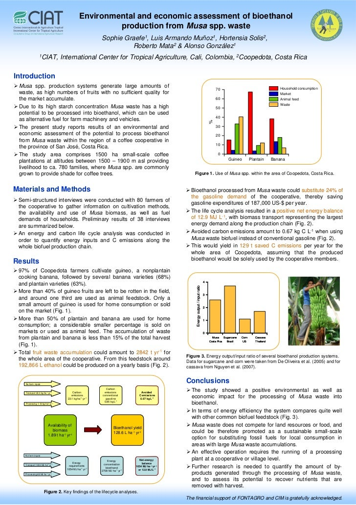 Environmental and economic assessment of bioethanol                                                           production f...