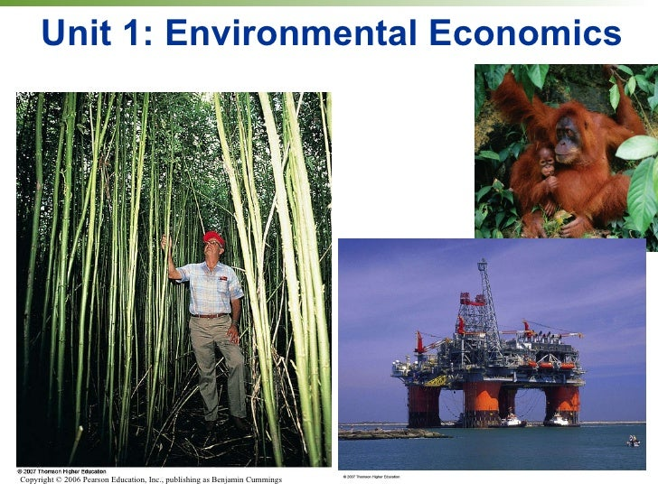 Unit 1: Environmental Economics