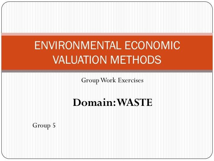 Environmental economic valuation methods_Mozambique