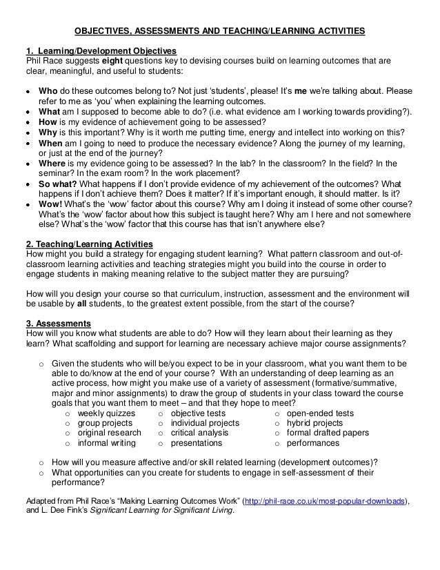Teaching by Design - Session 1 Handout 2