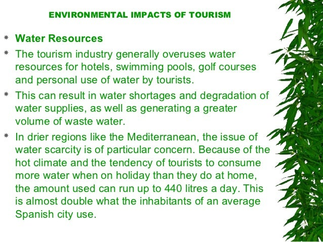 negative impact of tourism in boracay The impacts of ecotourism can have both positive and negative effects on the environment and local communities.