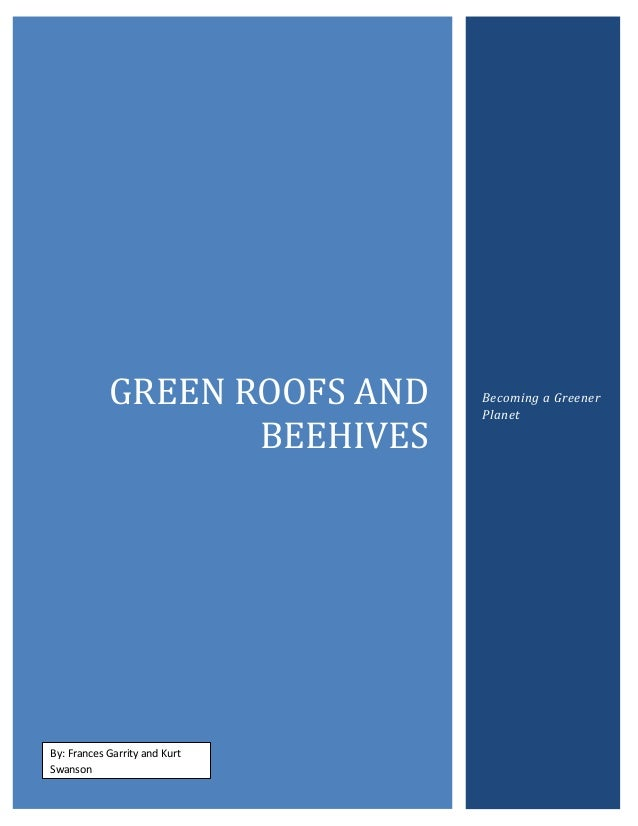 Environmentalism and green roofs